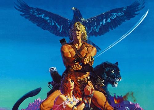 1980's Movie - BEASTMASTER ART canvas print - self adhesive poster - photo print